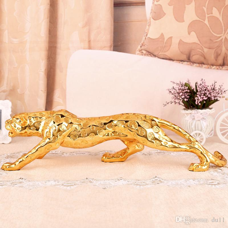 Lucky money is as good as water leopard car accessories ddecoration high-end Jushi 6564 crafts halloween Arts Decoration Brass