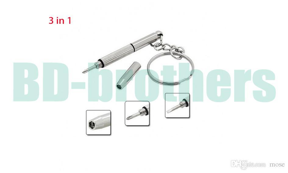 3 في 1 MINIATURE SCREWDRIVER PRECISION REPAIR للبصري / نظارات / نظارات إطارات / نظارات / مجوهرات / الساعات / الكثير