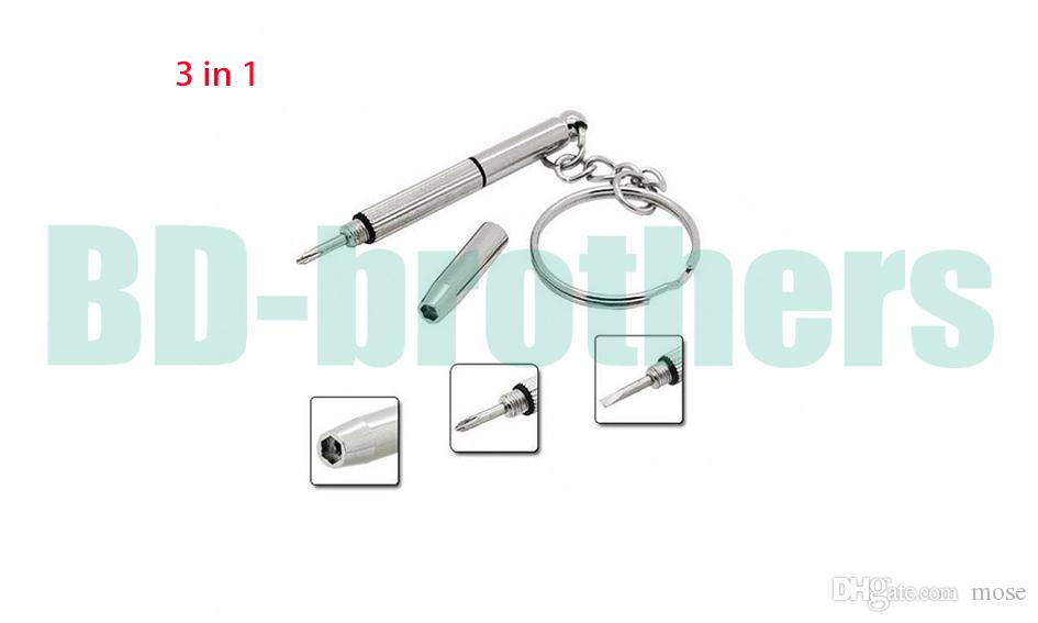 3 in 1 MINIATURE PRECISION REPAIR SCREWDRIVER for Optical/Glasses/Eyeglass Frames/Sunglasses/Jewellery/Watches