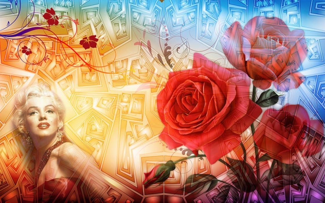papel de parede 3D пользовательские ретро обои для стен 3 d Гостиная Спальня фон стены розы европейский обустройство дома