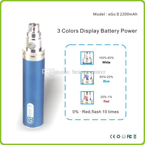 Оригинал Greensound GS eGo 2 II 2200 мАч Мега батарея KGO одна неделя батарея для T2 Protank subohm распылители испаритель e сигареты бак