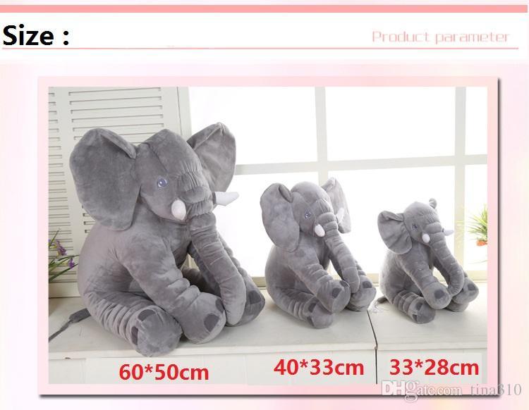 - слон нос чучела животных кукла мягкие плюшевые вещи игрушки детские подарки мягкие поясничные подушки 33*28 см A0280