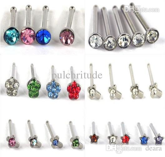 deara fashion wholesale body display pierce u from mix piercings jewelry jewellery choose nose studs product dhgate