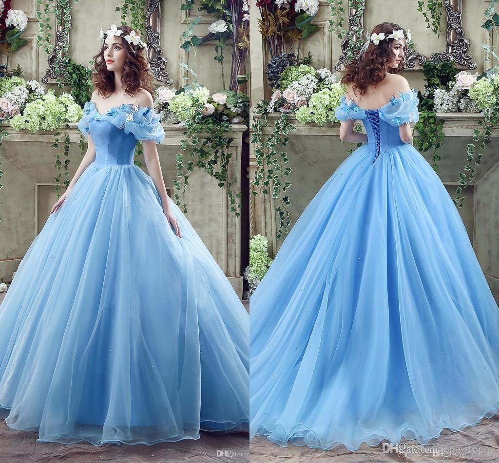Cinderella Quinceanera Dresses Princess Ball Gowns 2016 ... - photo#37
