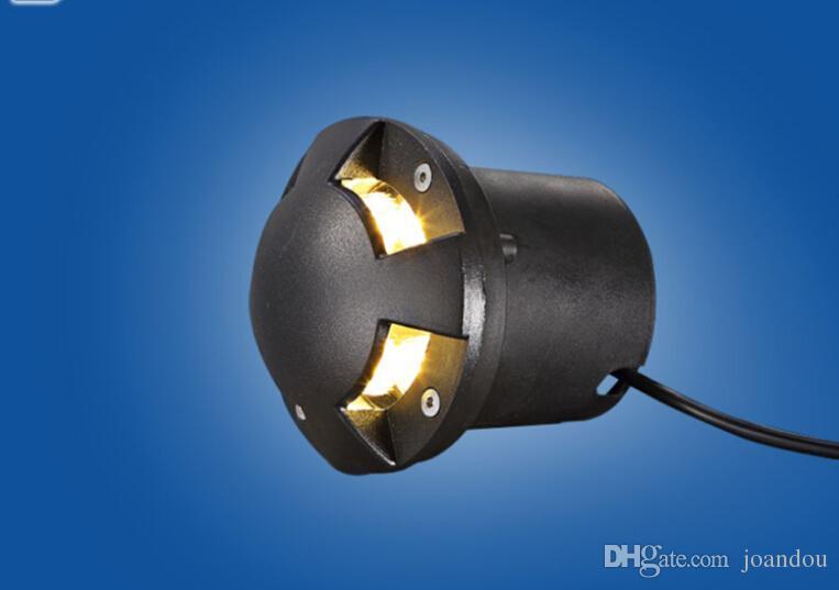 Горячие продажи 6 Вт теплый холодный белый светодиодные напольное освещение земли подземный свет IP68 Водонепроницаемый светодиодные пейзаж лампы AC85-265V/DC12V