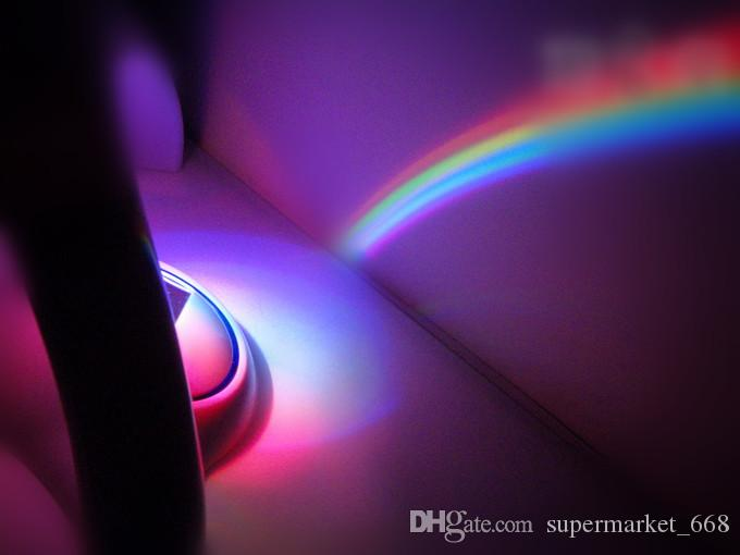 Romantic Rainbow Star Projector Lamp LED night light projector lamp creative gifts gift