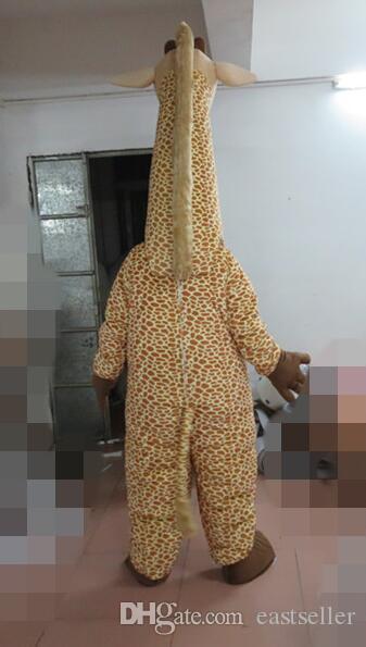 Alta Qualidade bonito traje Sika cervos, Actuação, Figurino mascote dos desenhos animados do partido do vestido extravagante de frete grátis