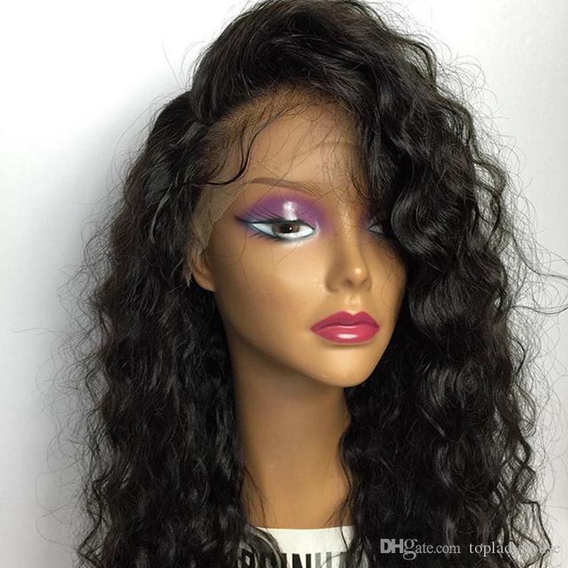 Full wigs black for lace women glueless