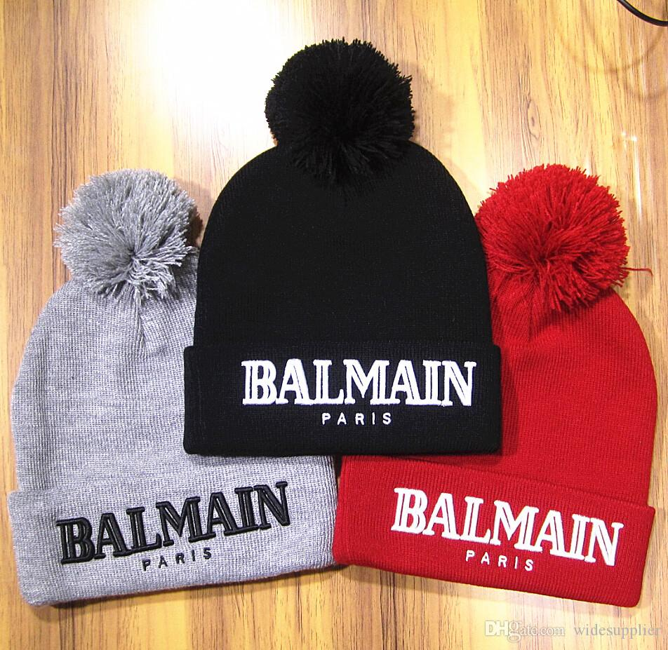 4 colors Winter Hats flanging cap hip hop popular knit hat custom knit hat wool cap star models Christmas Beanies Hats Quality A+++++