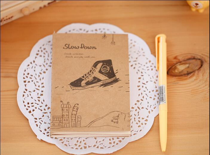 Wholesale- Creative cute stationery cute little book line of this, notepad notebook