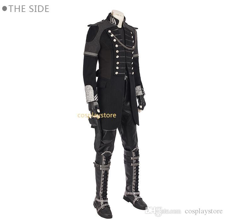 Film de haute qualité FF Kingsglaive Final Fantasy XV Costume Cosplay Film FF 15 Costume Homme