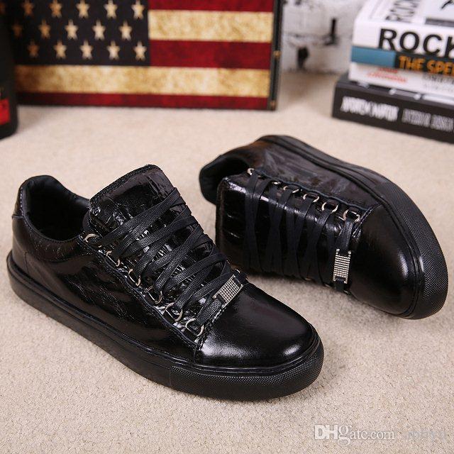 7d82e9e56e9 Original Packaging Fashion Brand Men Arena Low-Top Sneakers In Black ...