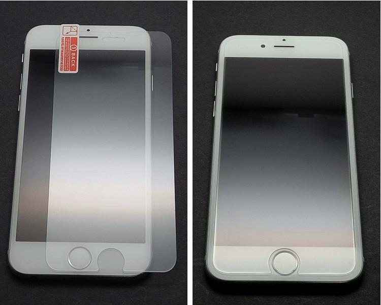 Verre trempé pour iPhone 11 Pro XS MAX XR X 8 7 6 Plus Anti-scrach Effacer la pleine colle Protecteur d'écran avec emballage au détail