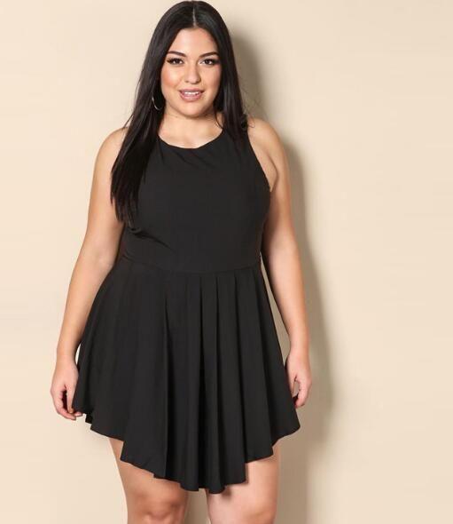 Plus Size Women Clothings Sexy Clubwear Party Mini Dresses ...