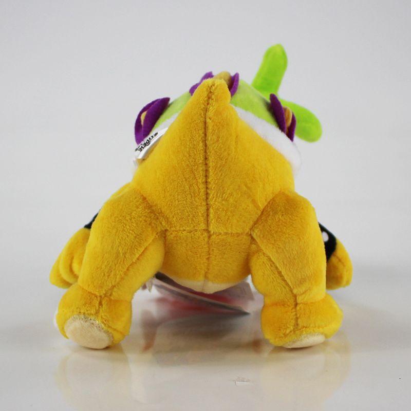 20cm Super Mario Koopalings Plush Toys Iggy Koopa Stuffed Soft Plush Doll for Child Gifts Wholesale