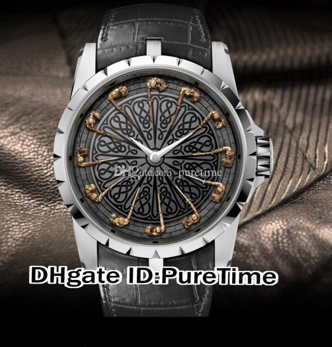 Best version 45mm excalibur 45 rddbex0495 18k white gold - Knights of the round table watch price ...