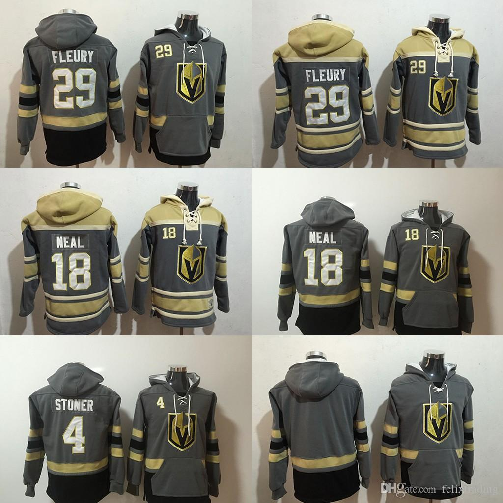 18 James Neal Hoodies Vegas Golden Knights Hockey Hoodie 29 Marc ... 14b020b1935b