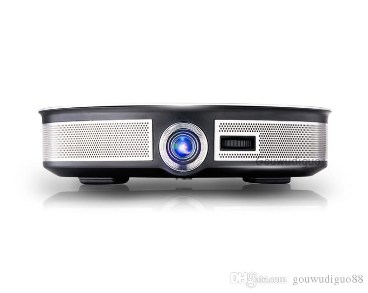 2018 New High Brightness LED DLP Projector 8500Lumens 4K Projector Full HD Digital WiFi Android 6.0 3D Home Theater Projector HDMI 2G+32G