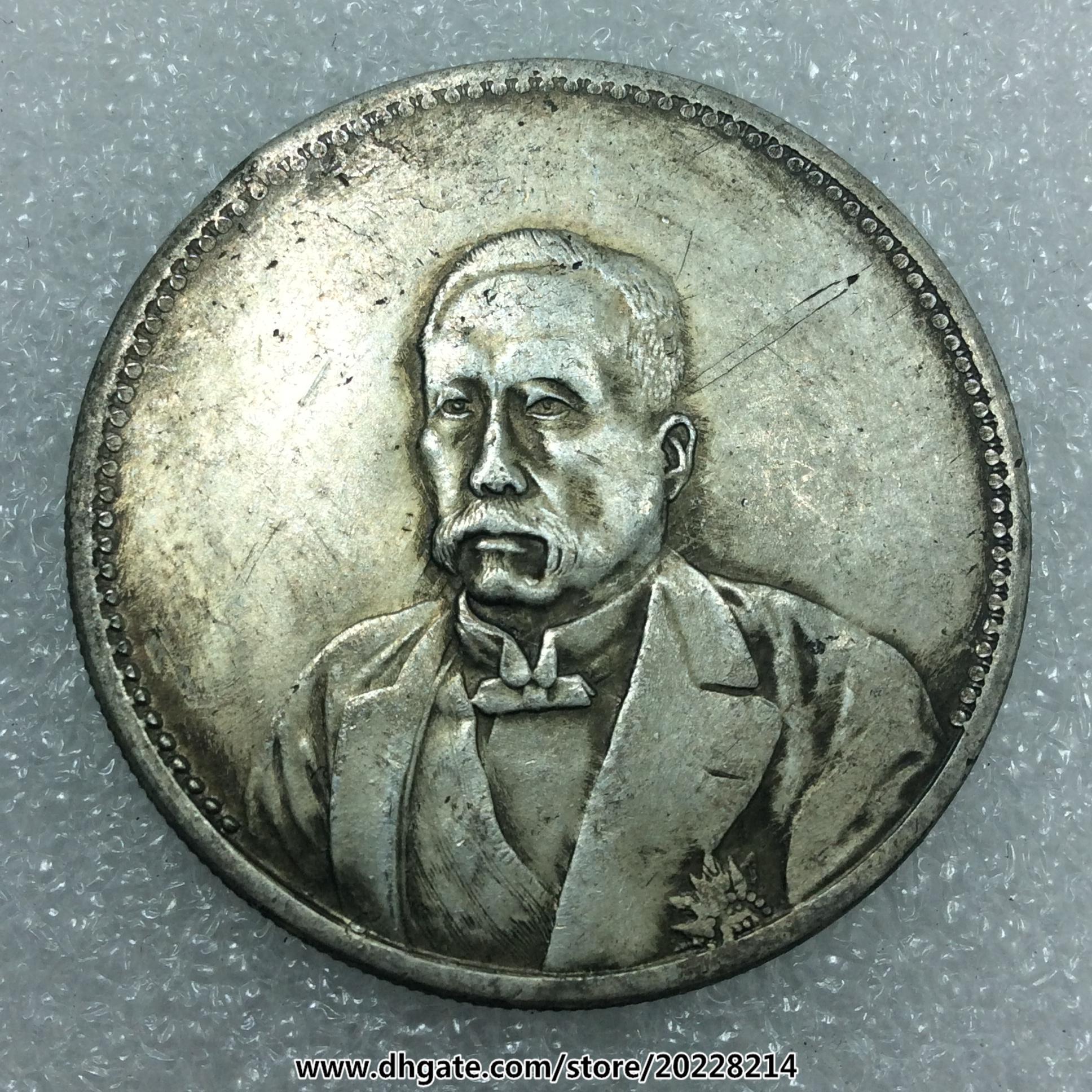 Großhandel Alte Chinesische Münzen Roc Dekade Im September 38mm 27g