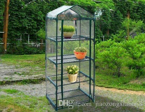 Superb 2017 Hot 4 Tier Mini Portable Greenhouse W/Shelves Mini Green Plants House  From Jiaozongxiao668, $32.82 | Dhgate.Com