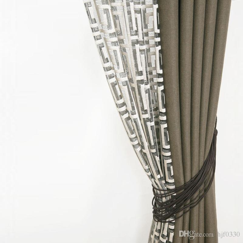 2017 Retro Blackout Curtains For Living Room Bedroom Hotel Decor ...