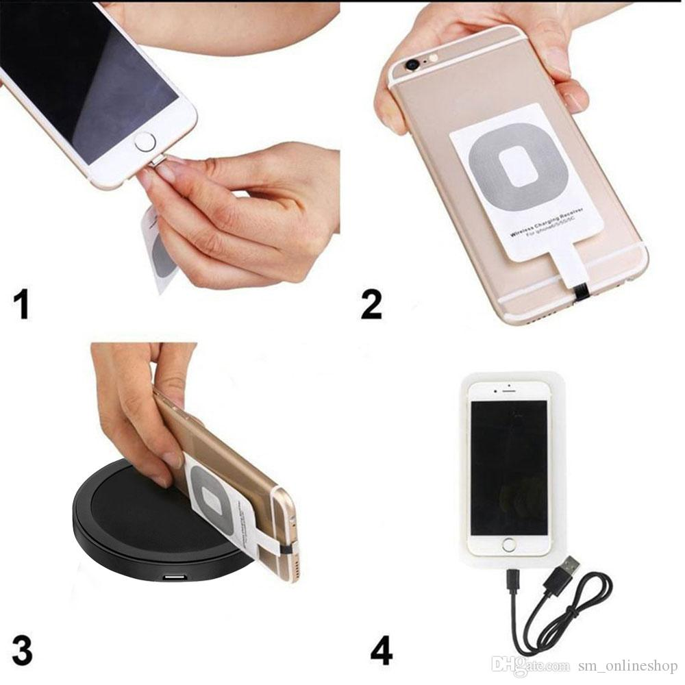 NEW Qi Wireless Charger Receiver Wireless Charging adapter For Samsung Galaxy S4 S5 NOTE2 NOTE3 Note 4