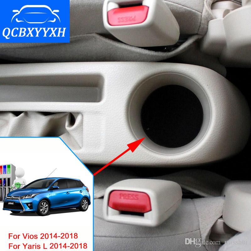 Автомобиль-stylingFor Toyota Yaris L новый Vios подлокотник коробка Центральный магазин Ящик для хранения контента с подстаканник пепельница интерфейс 2014-2018