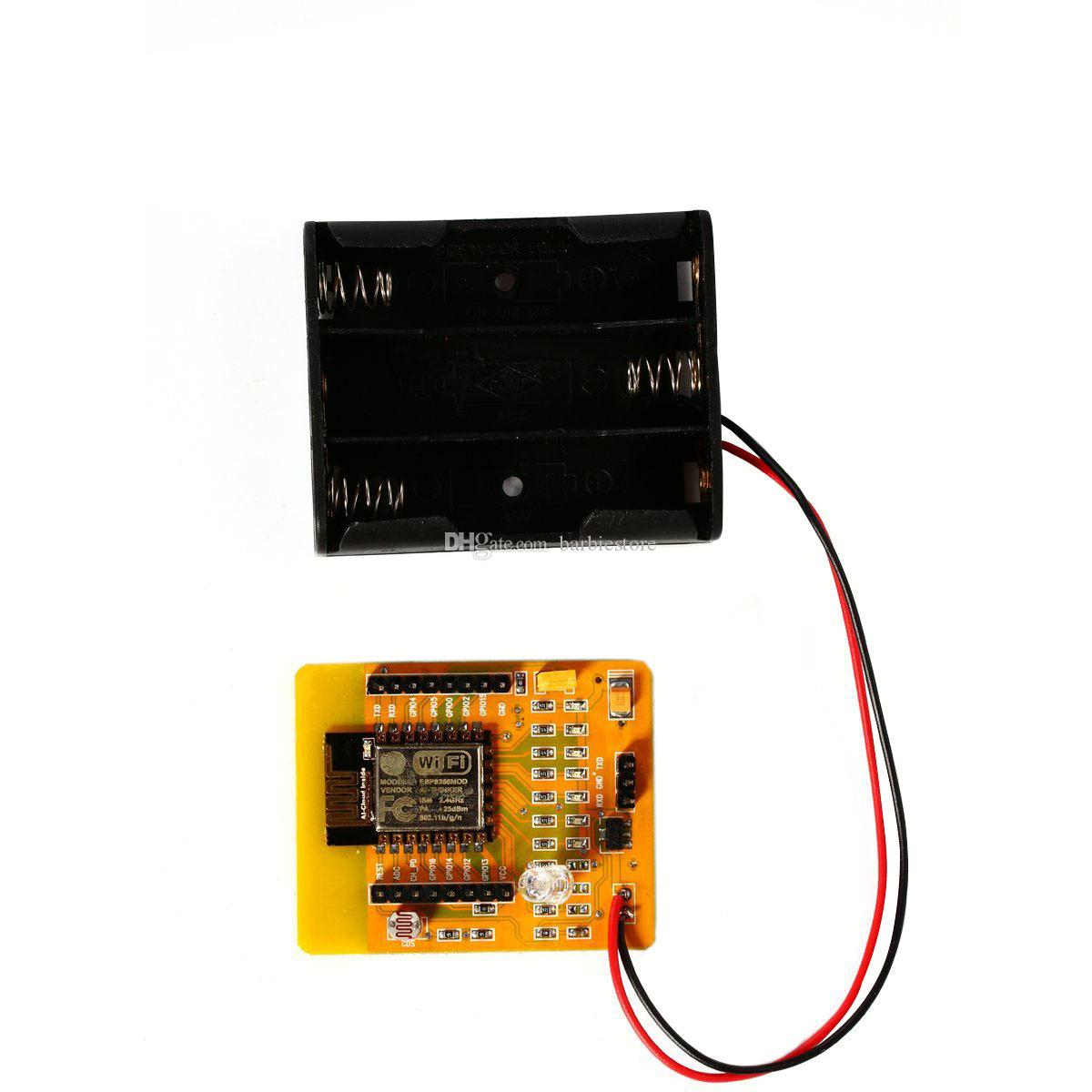 Tarjeta de desarrollo serie ESP8266 WIFI Prueba Tablero inalámbrico completo IO lleva B00304