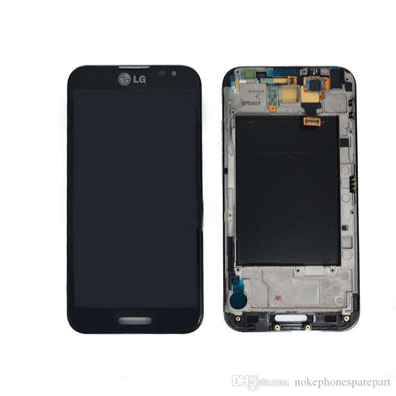 Nouvel écran écran LCD écran tactile de numériseur d'écran avec cadre pour meizu mx4 pro blanc et noir