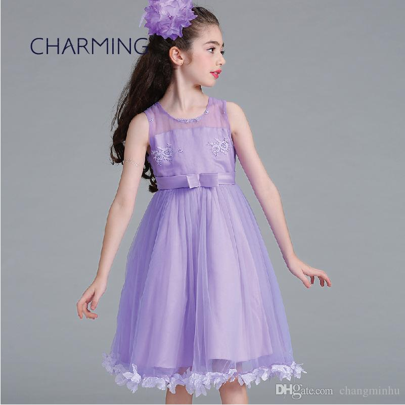 Girls Formal Dresses For 3 14 Years Old Princess Dress High Quality