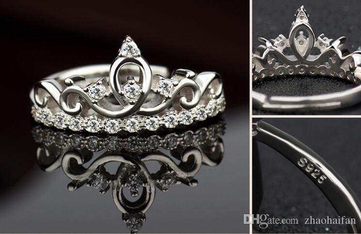 Certificat US GIA Peut être ajusté Marque Bijoux blanc CZ Diamant simulé
