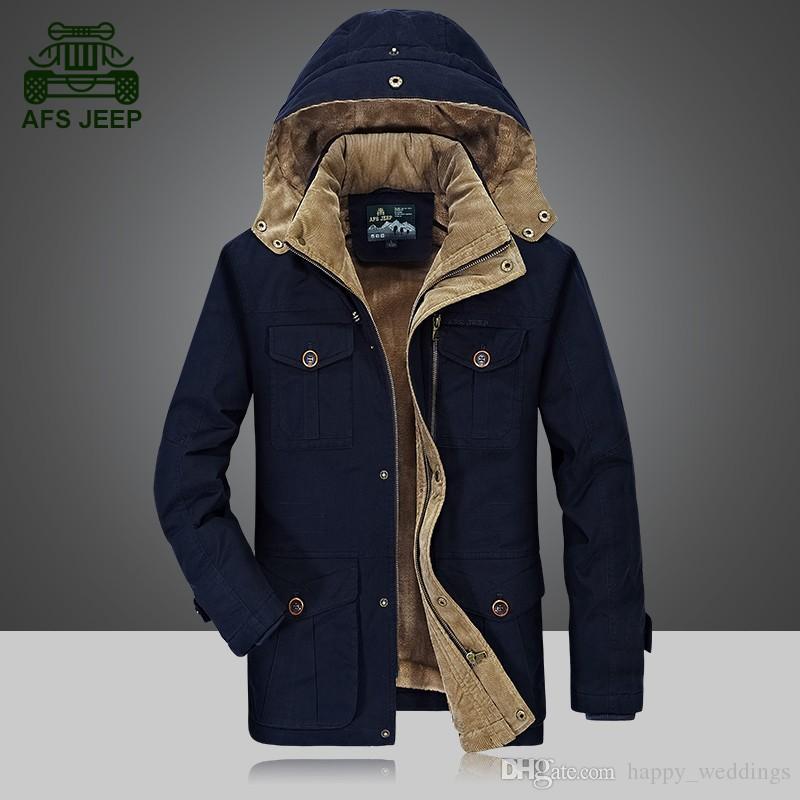 2c0400df827c High Quality Brand Thickening Winter Coat Cotton-Padded Jacket Men 2017 Fashion  Jaqueta Masculina Warm Parkas Plus Size Men's Winter Jackets Men's Outerwear  ...