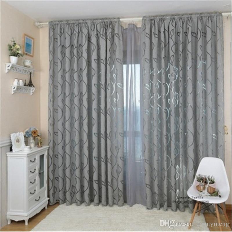 100x 270 cm tenda stile tenda jacquard oscurante design finestra soggiorno decorazione della casa