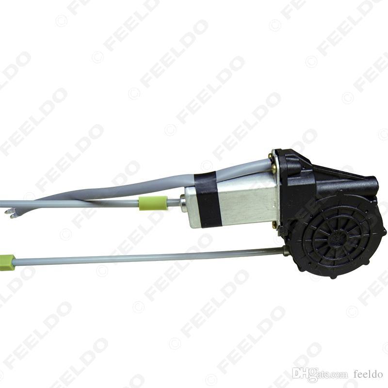 Feeldo DC12V Car / Auto Universal 4 Portas de Portas Eletrônicos Janela de poder com / conjunto Swithces e Arnês # 2845
