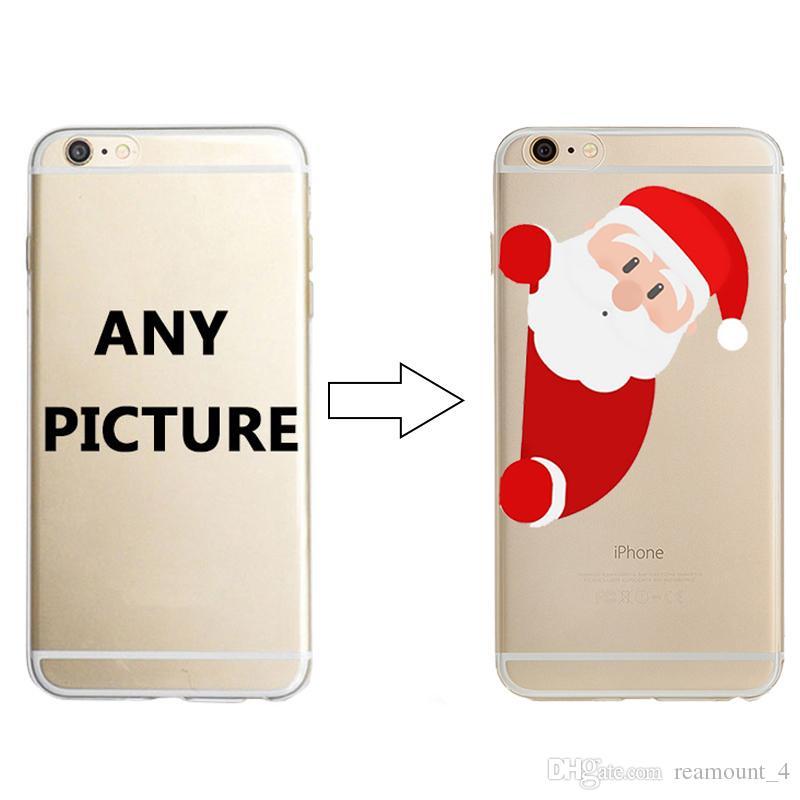 Toptan Özelleştirmek Tasarım Telefon Kılıfı için iPhone 8 8 Artı UV Baskı Sert Plastik PC Telefon Kapak