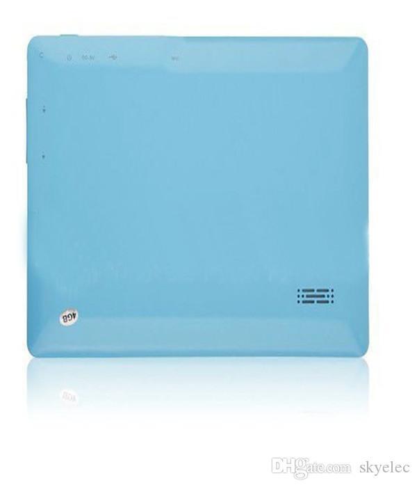 الكمبيوتر اللوحي A33 Q88 رباعي النواة 7 بوصة Allwinner الكمبيوتر اللوحي الروبوت 4.4 كاميرا مزدوجة 4GB 512MB شاشة سعوية WIFI MID DHL مجاني android tablet