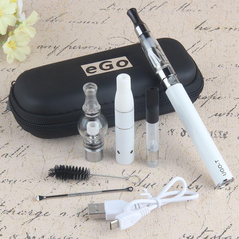 Authentic UGO 4 in 1 Starter Kits eGo ce4 Vape Pen 510 Thread Battery Micro USB Passthrough Electonic Cigarette UGO T Multi Vaporizer Kit