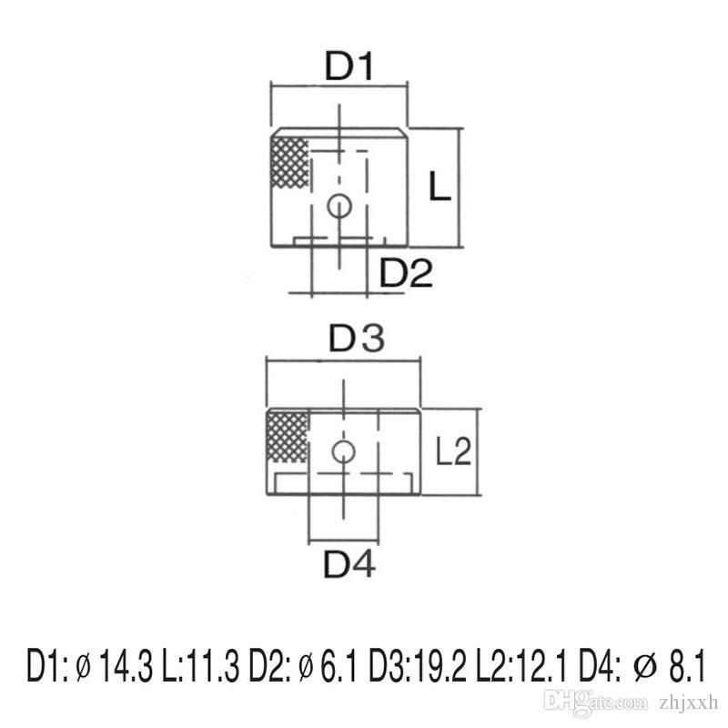 Manopole di controllo impilate tono chitarra nera Manopole a due manopole concentriche 2 IN 1