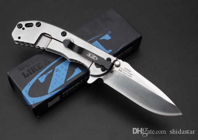Strider ZT Zero Tolerance 0566 Tactical Folding Knives D2 Ball Bearing System G10 Camping Hunting Survival Pocket EDC Tools Collection