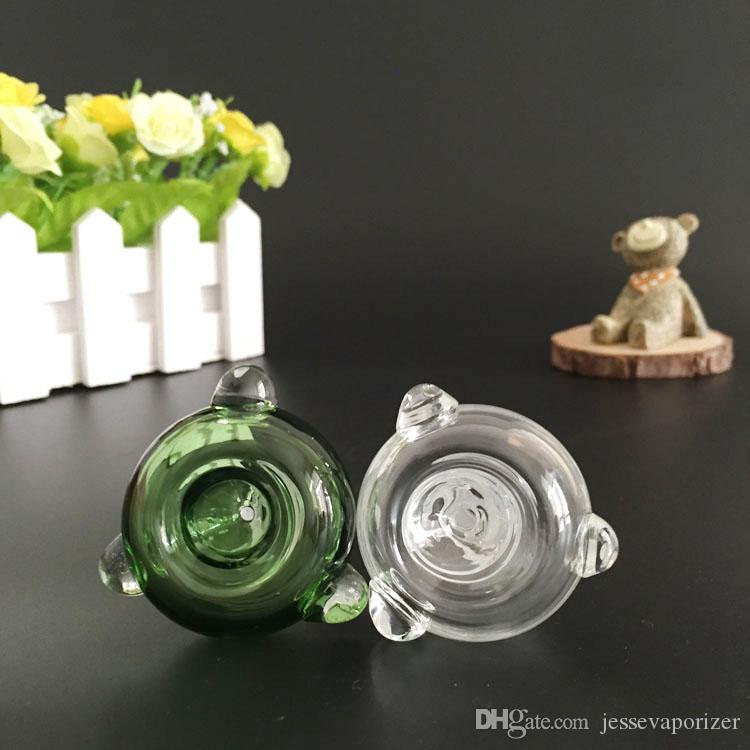 뉴 봉 유리 파이프 봉 액세서리 오일 장비 유리 봉 액세서리 유리 흡연 그릇 조인트 14.5mm 18.8mm 애쉬 포수