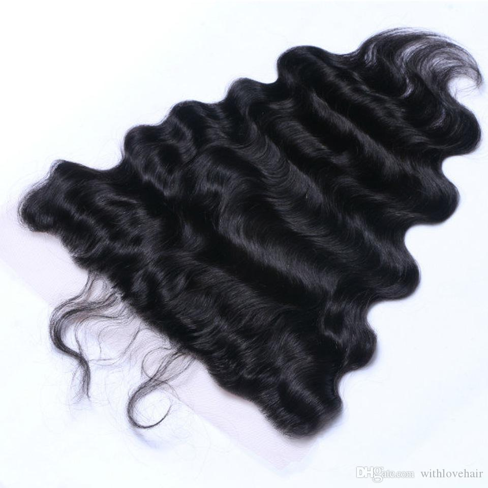 Wholesale Price for 13*4 inch Lace Frontal Closure Brazilian Body Wave 100% Virgin Human Hair Tangle & Shedding Free Ear to ear frontal