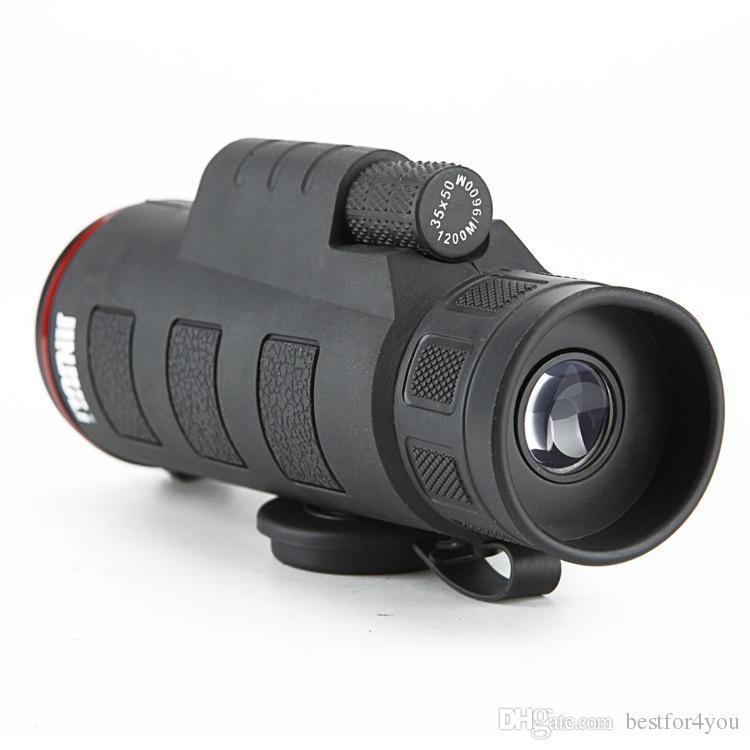 High Powered 35X50 Dual Focus Zoom Monocular Binoculars Optic Lens Telescope Day Night Vision telescopio Binoculares for outdoor hunting