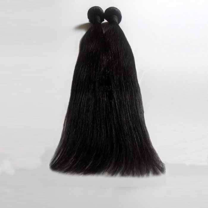 학년 7A 브라질 버진 머리 weaves 페루 머리 weft 확장 뜨거운 판매 인도 레미 인간의 머리 8-28inch 스트레이트 자연 색상