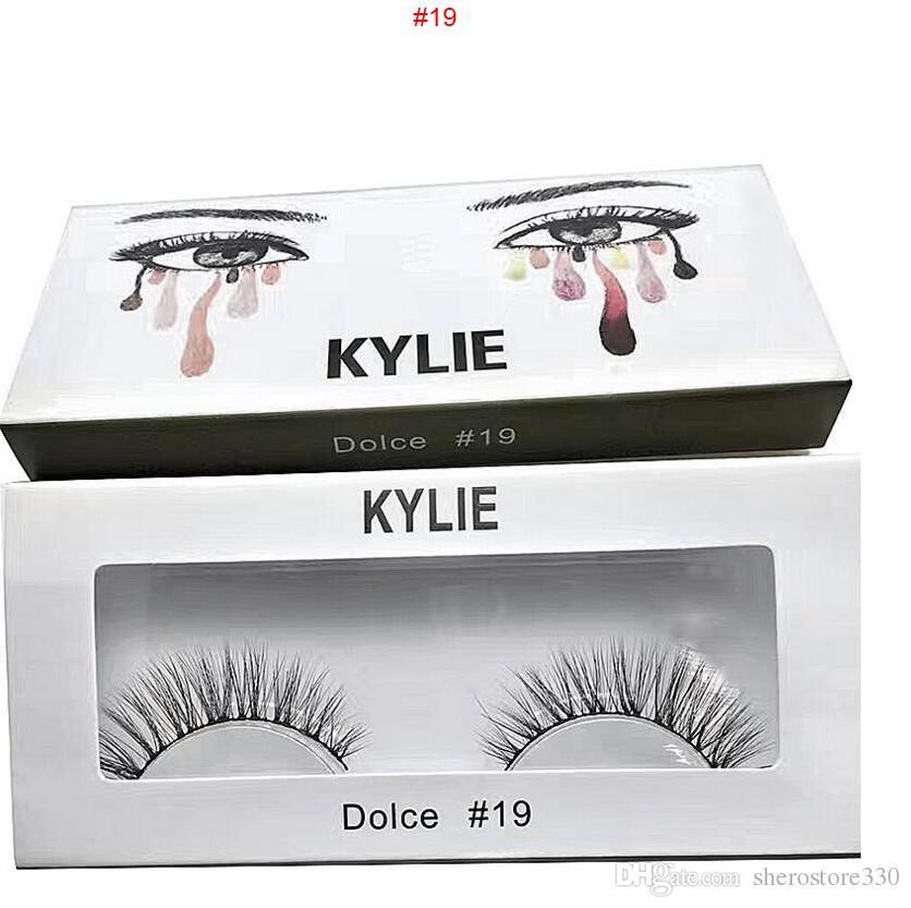 8e91732852c ... kylie False Eyelashes 20 model Eyelash Extensions handmade Fake Lashes  Voluminous Fake Eyelashes For Eye Lashes ...