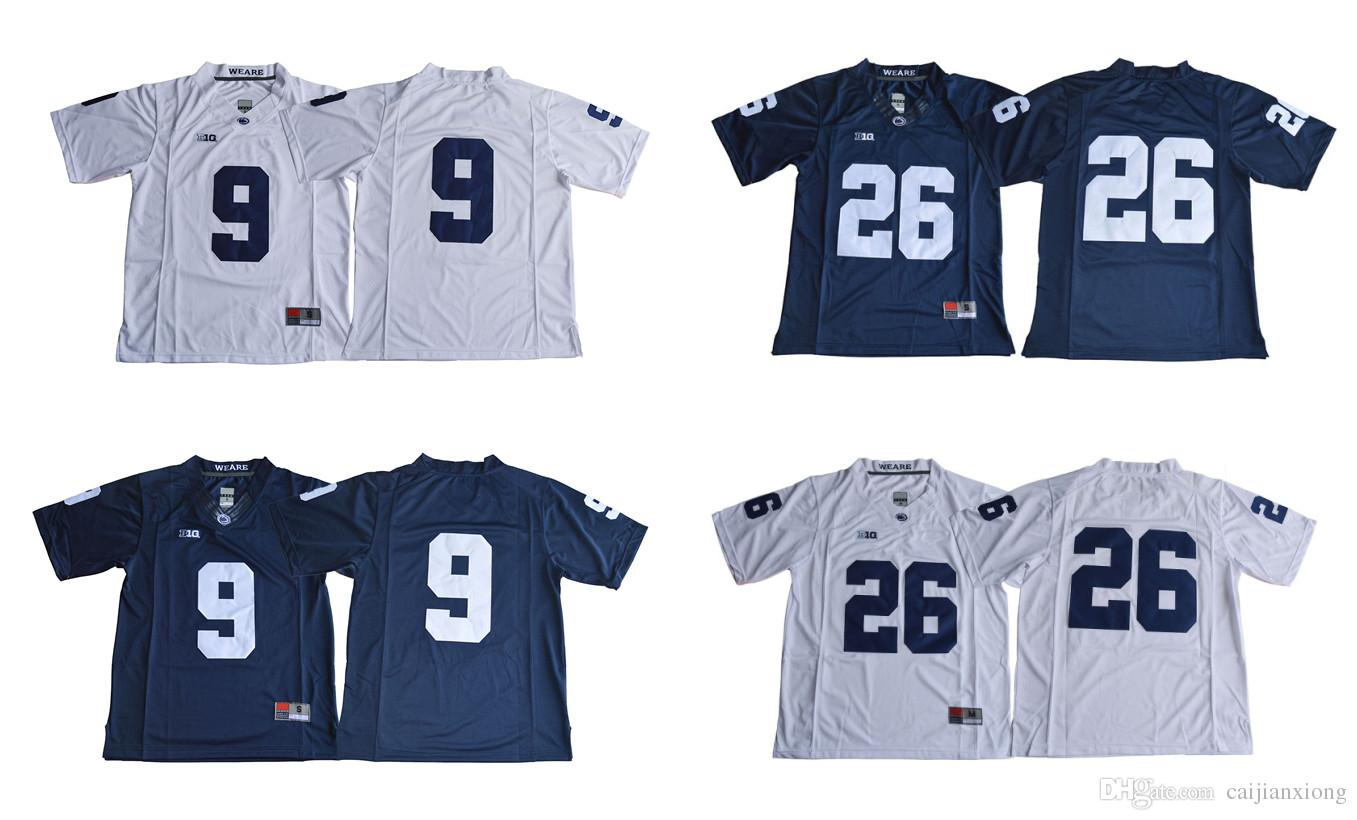 dd2f576a5 ... football jersey 44c6f 593bc; netherlands 9 trace mcsorley 26 saquon  barkley mens penn state nittany lions navy blue white no