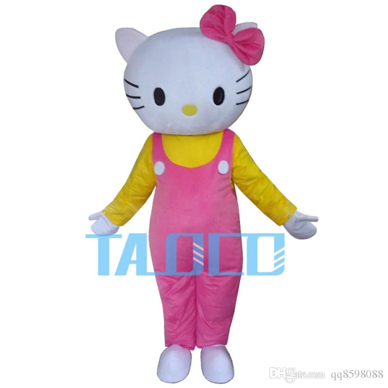 c6395b6cb HOT Hello Kitty Costume Cartoon Character Adult Cute Fancy Dress Mascot  Character Costumes For Sale Mascots Costumes From Qq8598088, $99.5|  DHgate.Com