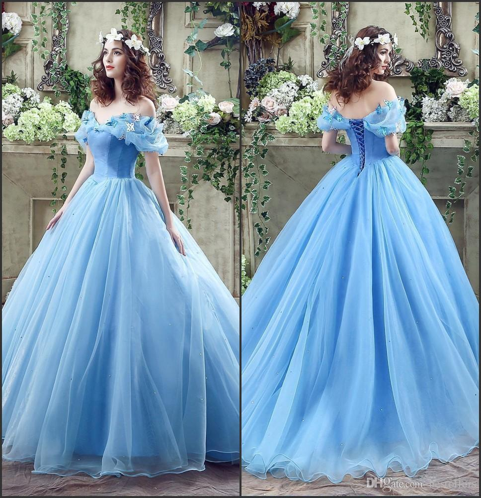 2017 graceful ice blue cinderella ball gowns quinceanera dresses 2017 graceful ice blue cinderella ball gowns quinceanera dresses off the shoulder girls masquerade ball gowns lace up back in stock cps239 prom dresses ombrellifo Image collections