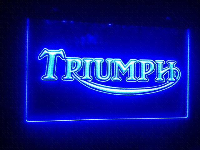 best tr 04 triumph motorcycles services repairs led neon sign