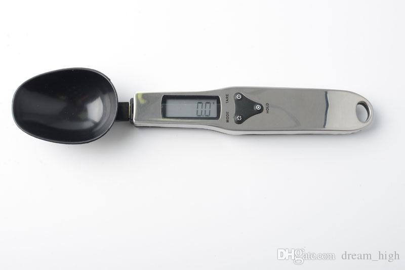 Cuchara de medición digital útil 500 / 0.1g Digital LCD Gram Kitchen Lab cuchara escala volumen alimentos envío gratis