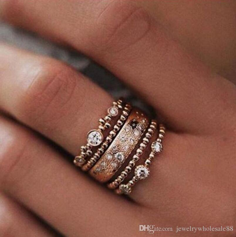 with ring two stacked stack wedding halo rings engagement